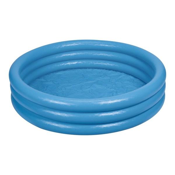 Bể bơi phao 3 tầng xanh thủy tinh 1m14 INTEX 59416