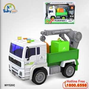 Mô hình đồ chơi xe môi trường có đèn và nhạc mẫu mới WY520C