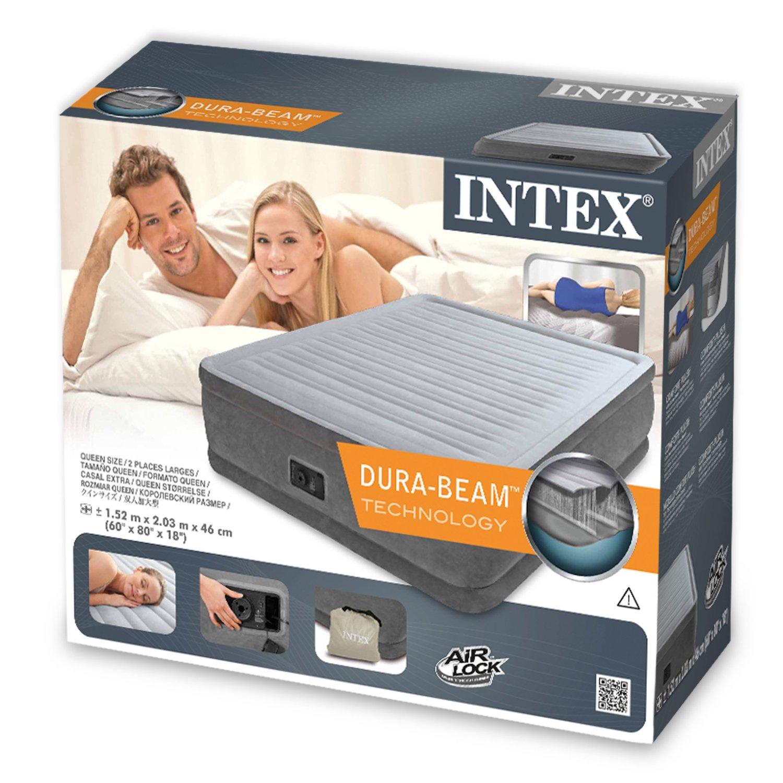 Giường hơi tự phồng công nghệ mới INTEX 64414