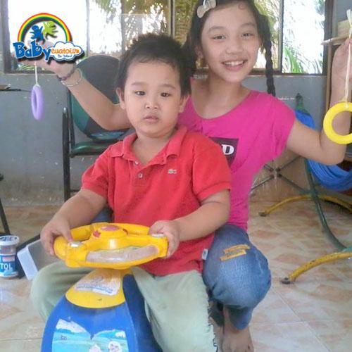 đồ chơi cho bé Nguyễn Trần Thái Dương