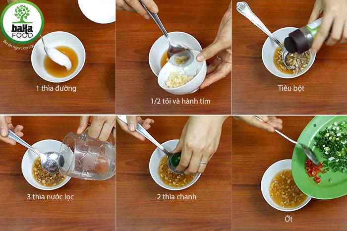 Chế biến nước sốt cá kho rim chua cay mặn ngọt