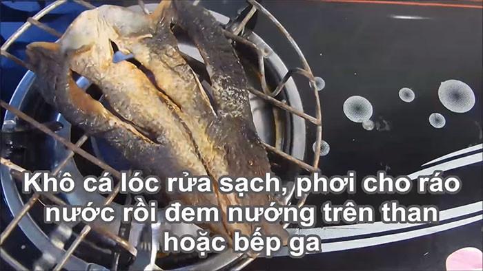 Cách làm gỏi xoài khô cá lóc