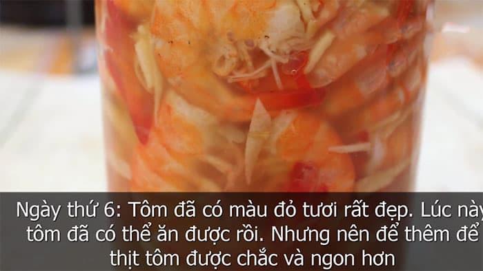 cách làm mắm tôm chua huế