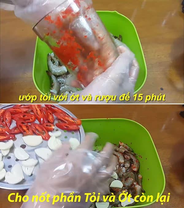 làm mắm tôm chua miền tây