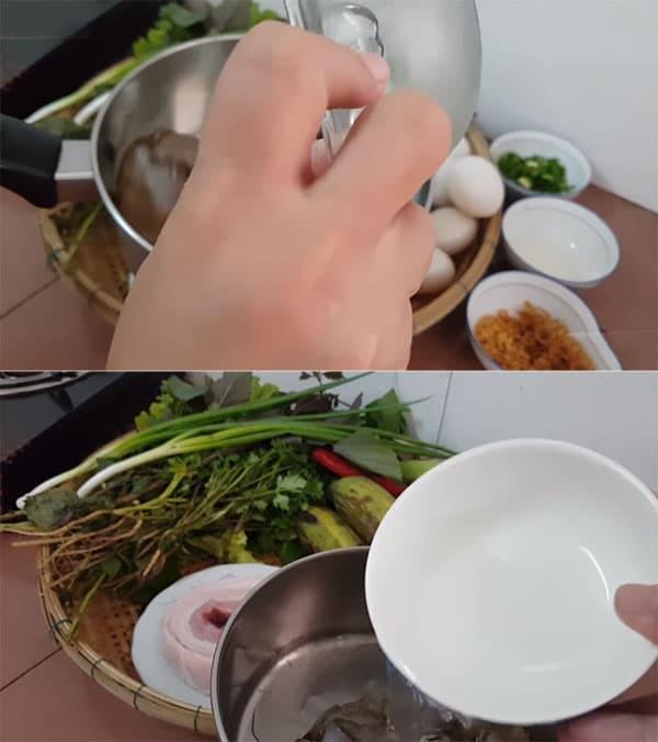 mắm cá sặc chưng trứng