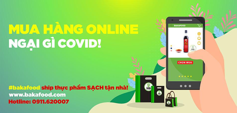 Mua hàng online, ngại gì COVID