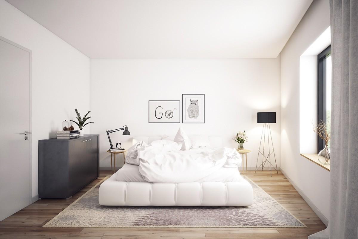 phong thủy giường ngủ cho vợ chồng - theo mệnh Kim