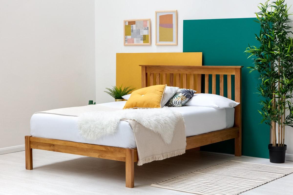 giường ngủ gỗ sồi