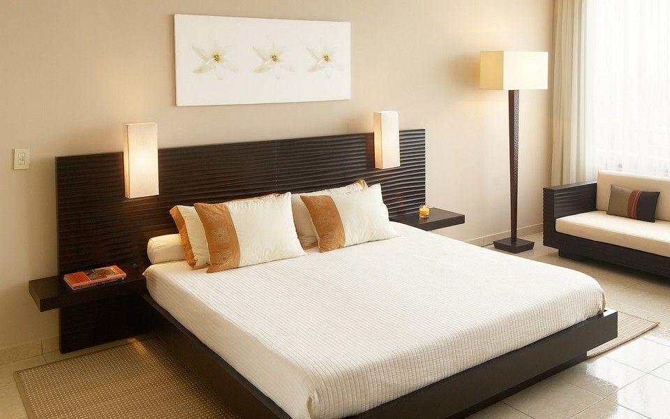 giường ngủ gỗ công nghiệp laminate