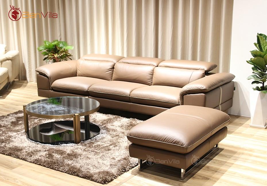 bộ sofa văng + đôn nhập khẩu Malaysia