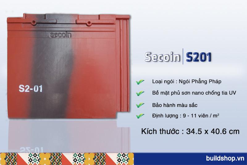 Build Shop | Ngói màu phẳng pháp Secoin S2-01