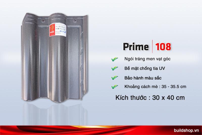 Build Shop   Ngói màu Prime tráng men 108