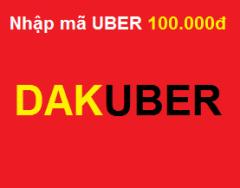 Đi du lịch quanh thành phố với mã miễn phí UBER: 100.000đ