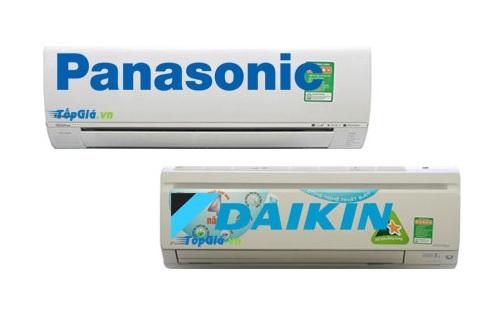 Điều hòa Panasonic và Daikin