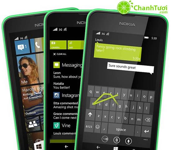 530k sở hữu ngay 1 điện thoại Nokia Lumia 530