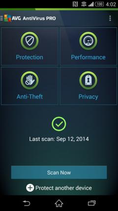 [App Mobile] Key AVG pro cho Android 2017 diệt vius miễn phí 06 tháng cho tất cả người dùng Sony Xperia