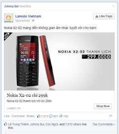 [Cảnh báo]Điện Thoại 2 Sim 2 Sóng Kiểu Dáng Nokia X2-02 Được Bán 300k Trên Lamido.vn