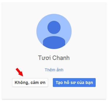 Tạo lập email và tạo hồ sơ trên Google Plus
