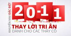 Tổng Hợp Quà Tặng Khuyến Mại 20/11/2014 (Nhà Giáo Việt Nam)