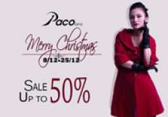 [SALE 30% - 50%] Thời trang công sở Pacolano dịp giáng sinh