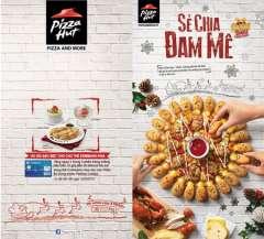 Pizza Hut Tặng Phần Tráng Miệng 59.000 Cho Chủ Thẻ Visa