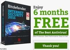 Nhận Key Bản Quyền Bitdefender Total Security 2016 6 Tháng