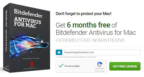 Bản Quyền Bitdefender Antivirus 6 Tháng