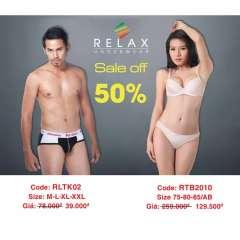 Thời trang Relax Underwear giảm giá 50%