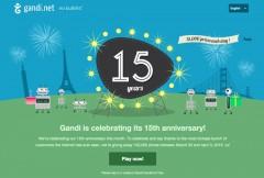 Gandi Sinh nhật lần thứ 15 tặng quà miễn phí