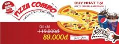 Lotte Cinema Landmark Giảm Giá Pizza Combo Chỉ 89k