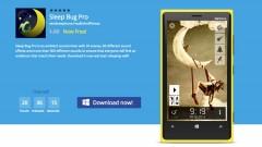 Sleep Bug Pro Ứng Dụng Giúp Bạn Ngủ Ngon Hơn Đang Miễn Phí Cho Windows Phone ($1.99)