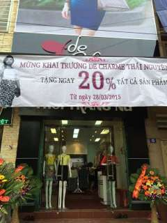 [TN] Thời trang De Charme khuyến mãi giảm giá 20% tất cả sản phẩm