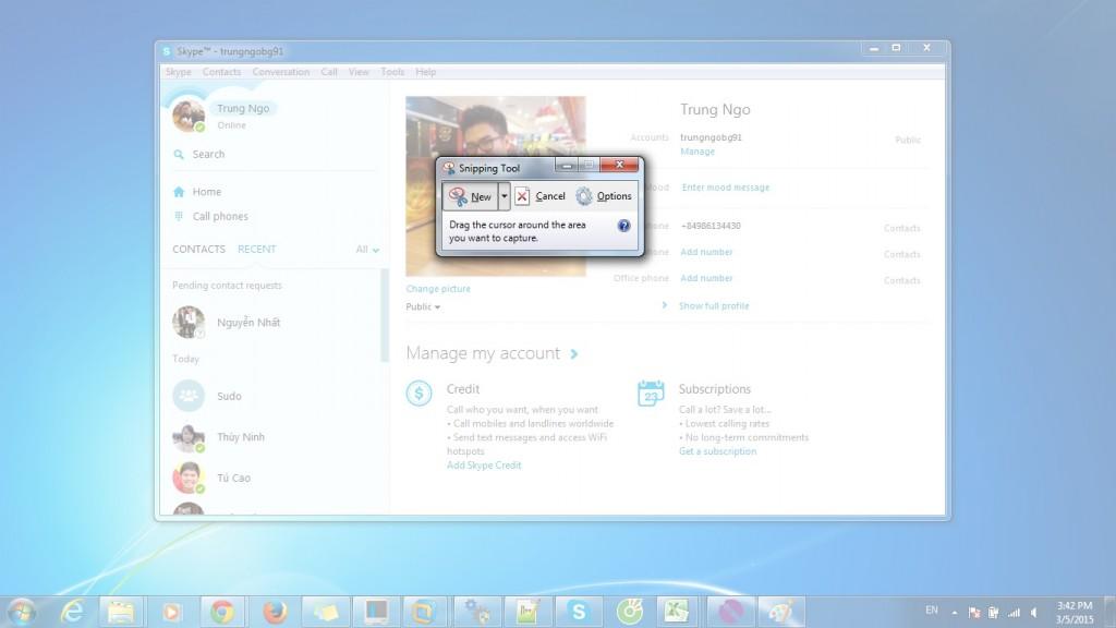 Hướng dẫn cách chụp ảnh mành hình laptop