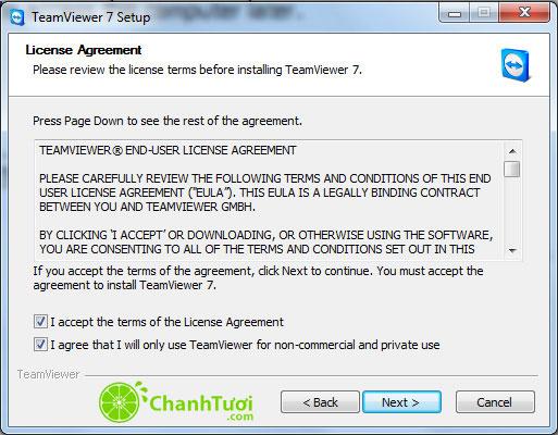 hướng dẫn cài đặt teamviewer 10 9