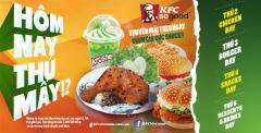 [KFC] Khuyễn mãi cực sốc với chương trình: Hôm nay thứ mấy?