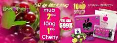 Klever Fruits Mua 2kg Tặng 1kg Cherry