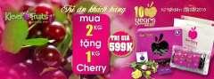 Klever Fruits Mua 2kg Tặng 1kg Cherry