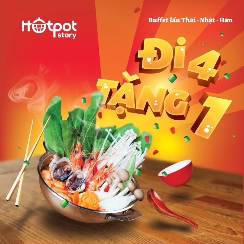 Khuyến mại buffet tại Hotpot Hà Nội