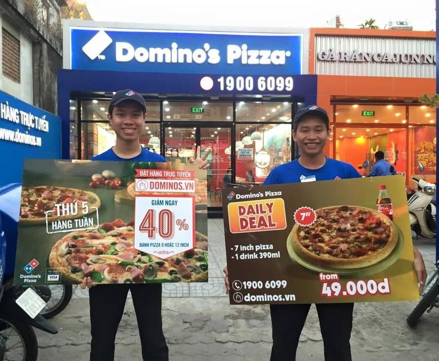Ưu đãi đến 40% Domino's Pizza