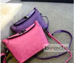 Túi xách nữ da lộn hiệu Bomdo Sale - 30%