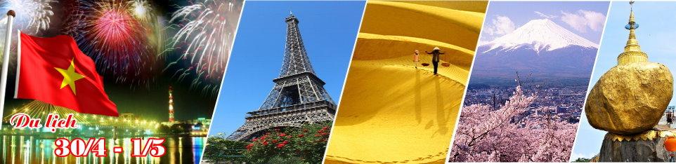 Vietnamtourism giảm giá lên tới 50% tất cả các Tour