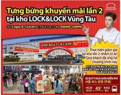 Siêu Bão Khuyến Mãi đến 50% của LockLock