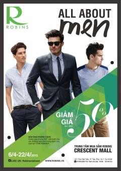 ROBINS triển khai tháng ưu đãi cho thời trang nam