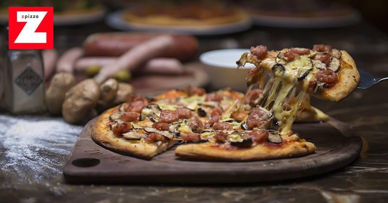 Tặng ngay 1 pizza tươi miễn phí khi checkin tại Zpizza cùng Shoppie.vn