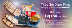 VinaHost tặng 100 cặp vé xem phim miễn phí