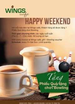 THỨC UỐNG NGON NHẬN NGAY QUÀ TẶNG TẠI WING CAFE