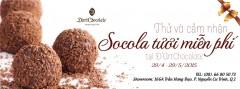 Miễn phí ăn thử sô-cô-la tươi tại D'art Chocolate