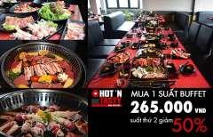 Ưu đãi chào hè giảm giá 50% cho suất thứ 2 tại Hot N Tasty