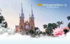 Vietnam Airlines Miễn Phí 2 Chuyến Bay Thử Ngiệm HN-HCM Ngày 3/7