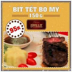 HANOI STEAK siêu khuyến mại bít tết bò Mỹ cỡ lớn giá chỉ 95k